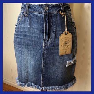 Denim Skirt True Craft